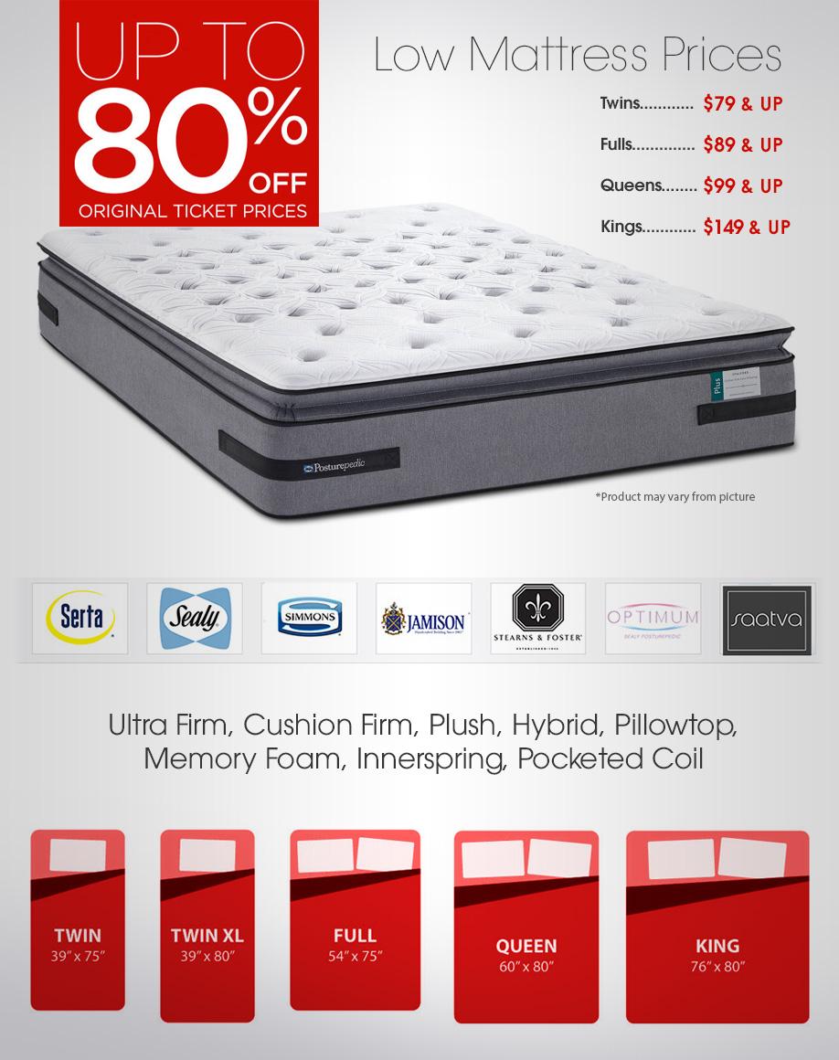 mattress sets pooler discount furniture